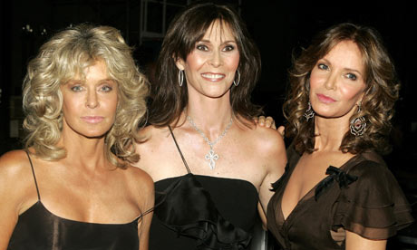 Farrah Fawcett, Jaclyn Smith and Kate Jackson